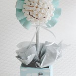 Baby Boy Marshmallow Tree
