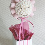 Baby Girl Marshmallow Tree