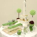 Paris Theme Candy Buffet