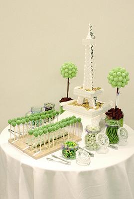 James Amp Jacqueline S A Proposal In Paris Candy Buffet